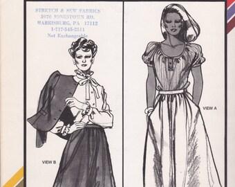 Classic Flared Skirt Pattern Stretch & Sew 418 Uncut