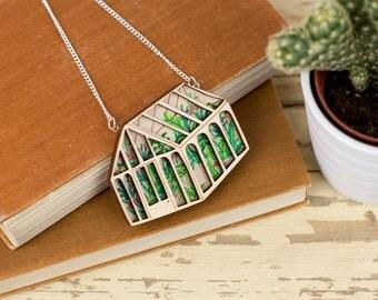 Jungle Greenhouse Necklace