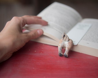 MYBOOKMARK // Pug bookmark // Animal collection // Handmade and crafted with love // Back to school gift //
