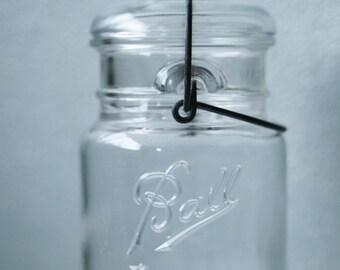 Glass Top Ball Ideal Mason Jar