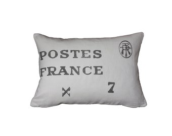 POSTES FRANCE Pillow Cover
