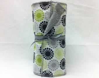 Unpaper towels, reusable paper towels, cloth paper towels, snapping paper towels - Glam Dot