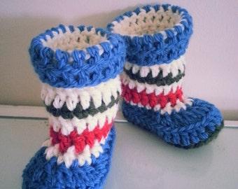 Handmade Crochet Baby/Kids Booties, Slippers