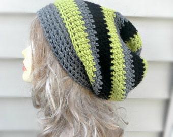 Slouchy Womens Hat Crochet Hat, Womens Accessories, Winter Hat, Slouchy Beanie, Crochet Beanie, Womens Beanie