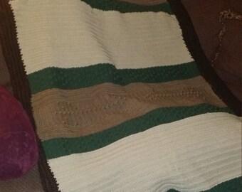 Reversible Crochet Blanket/Afghan