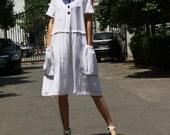 white linen maxi dress cotton dress linen dress