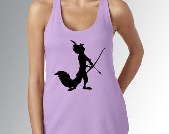 Robin Hood Minimalist * Lilac/Lavender * Disney Tank Top * Jersey Top * Disney Running Shirt * RunDisney * Run Disney * Racerback