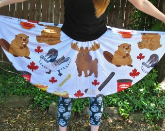 Canadian Pattern Skater Skirt
