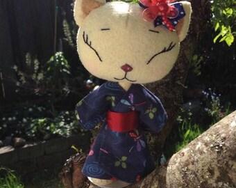 Little Dragonfly Kimono Kitten
