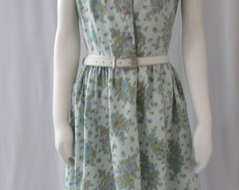 Vintage1950's Summer Cotton Dress made in USA