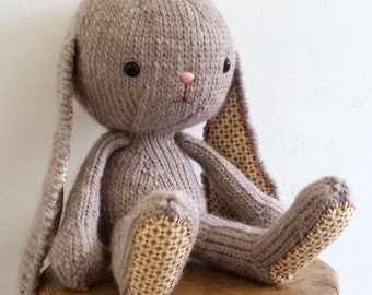 Knitted Bunny Pattern