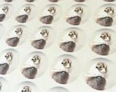 """Chicks in Hats Stickers Kerchief Chicken Stickers Seals 1.5"""" Round (12)"""
