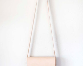 Natural Leather Cross Body