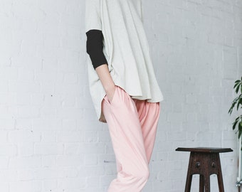 Oversized Box Top - Organic Cotton and Hemp Jersey