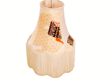 SMALL PENDANT LAMPSHADE - Still Light by Kimono Lamps