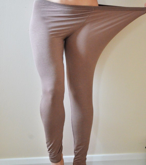 Plus Size Nude Leggings