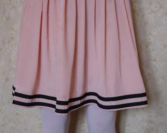 SALE Vintage pink pleated skirt
