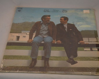 Vintage Record Carl Smith Sings A Tribute to Roy Acuff Album CS-9870