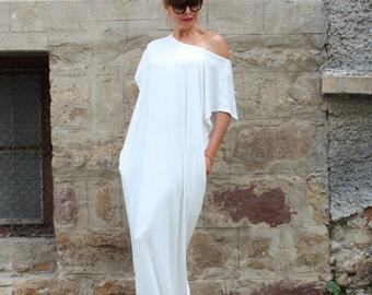 White dress, white dress long, plus size White dress, White Dress maxi, Plus Size white maxi Dress, Plus size Kaftan, Sizes 1X through 4X