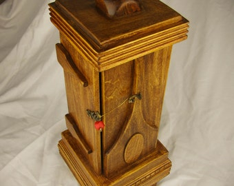 Faerie Box Fairy Box Wiccan Altar Box Jewelry Box for Magick Wicca Occult Goth interests