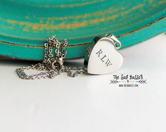 Personalized Cremation Urn Pendant | Hand Stamped Cremation Jewelry | Cremation Urn Necklace | Memorial Jewelry | Remembrance Jewelry | Pet