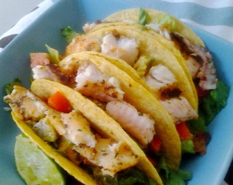 Pineapple Lime Fish Tacos