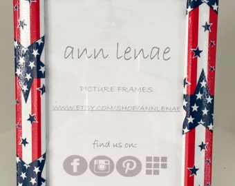 Stars & Stripes Picture Frame | Patriotic | Independence Day