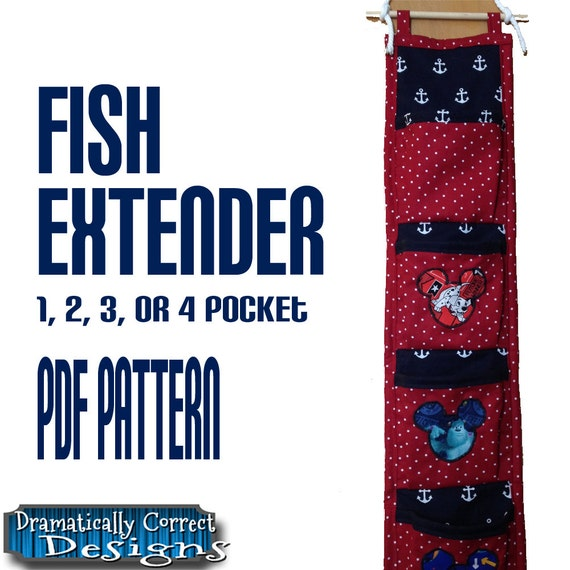 Fish Extender Sewing Pattern