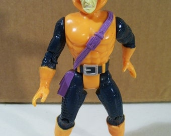 Vintage Marvel Spiderman Hob Goblin Action Figure, 1994 Toy Biz