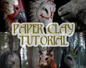 Nymla's Paper Clay Tutorial - Papier Maché - Recipe - PDF