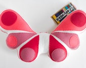 Plush Toy Butterfly - Pink
