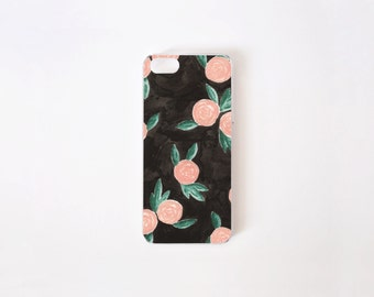 iPhone SE Case - Winter Roses iPhone 5/5S Case - iPhone 5s case - iPhone 5 case - Hard Plastic or Rubber