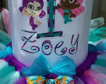Shirt ONLY Bubble Guppies Personalized Embroidered/Applique Bodysuit or T-shirt YOU DESIGN