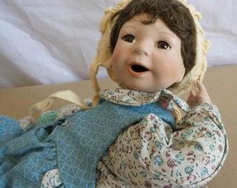 Vintage Porcelcain Doll by Julie Goodkruger