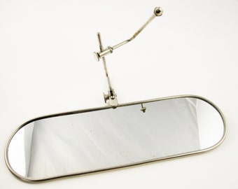 A Long Oval Mirror With Attachment - Steampunk - Mystery Mirror - Multi-functioning Adaptor  - Accessory