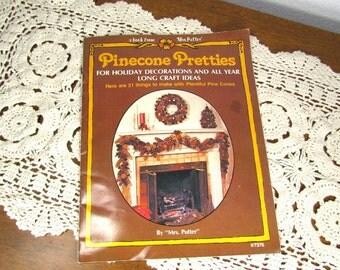 Vintage Pinecone Pretties Craft Booklet