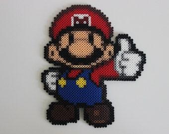 Mario   Paper Mario   Perler Bead Sprite