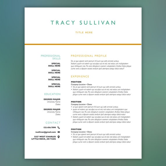 100 instant resume template professional for