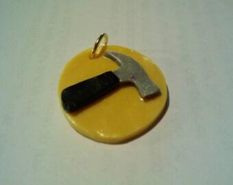 Captain Hammer Small Pendant