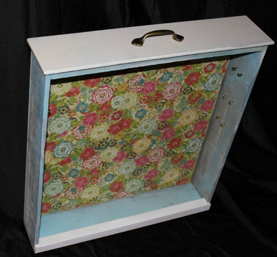 items similar to jewelry box recycled dresser drawer free standing on etsy. Black Bedroom Furniture Sets. Home Design Ideas
