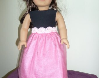 American Girl Doll T-shirt and Long Skirt