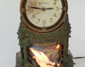 Waterfall Clock Etsy