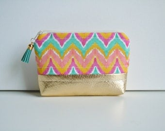 Essential Oil Bag- Watercolor Chevron