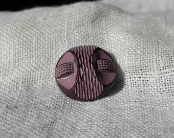 Purple Vintage Button