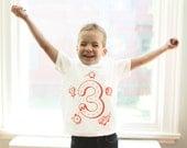 3T, Race Car Birthday Shirt, 3rd Birthday, Boys Car Shirt, 3 Year Old, Boys Birthday Shirt, Car Party, Three Shirt