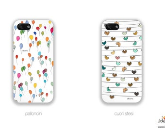 ideame iPhone case! you can choose among our hand drawing patterns!