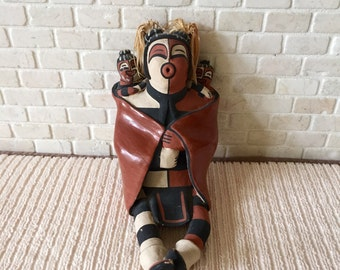 Koshare Storyteller Jemez Pueblo Reyes Panana M. Fragua