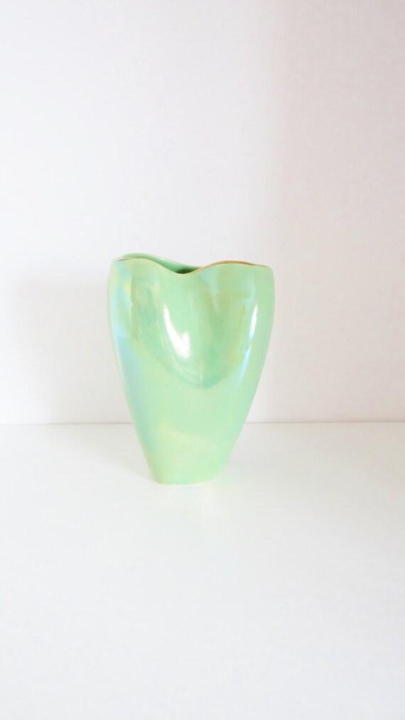 vintage lustre vase kensington ware england art deco vase. Black Bedroom Furniture Sets. Home Design Ideas