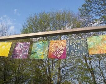 Gypsy garden flags