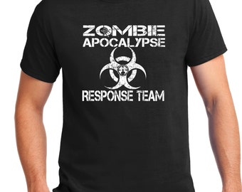 ZOMBIE SHIRT ,Zombie Apocalypse, Zombie Survival, Zombie tshirt, Zombie Party, Zombie, Screen Printed , Loves Zombies,